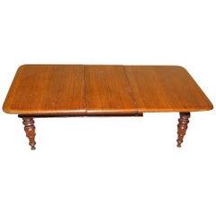 Rare Regency Mahogany Miniature Extending Dining Table