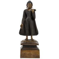 Rare Representation of a Standing Buddha