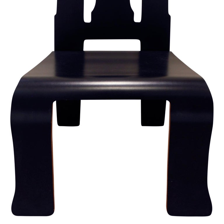 Rare Robert Venturi Set of 14 Queen Anne Chairs for Knoll circa 1984 'Signed' For Sale 2