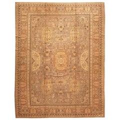 Rare Room Size Antique Khotan Rug
