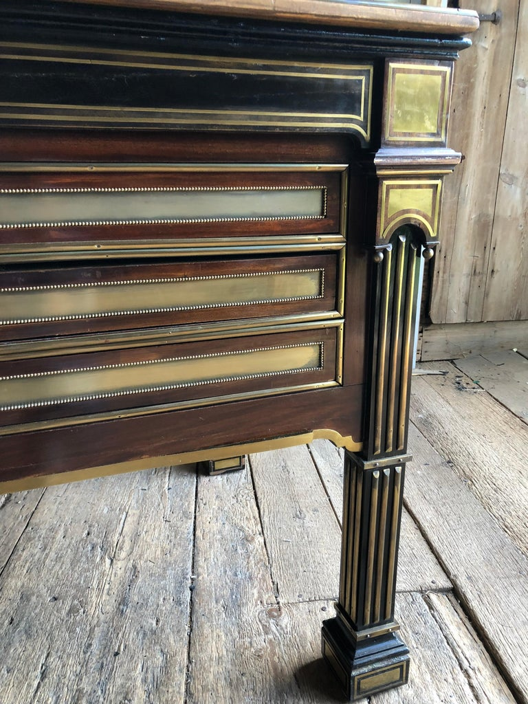 Rare Russian Neoclassical Library Table, 19th Century For Sale 6