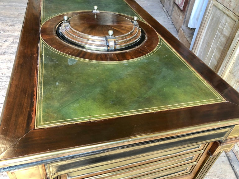Rare Russian Neoclassical Library Table, 19th Century For Sale 16