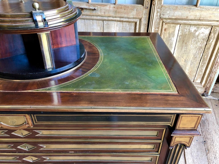 Rare Russian Neoclassical Library Table, 19th Century For Sale 1