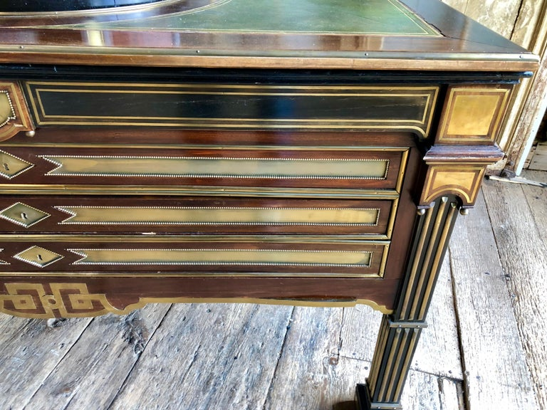 Rare Russian Neoclassical Library Table, 19th Century For Sale 2