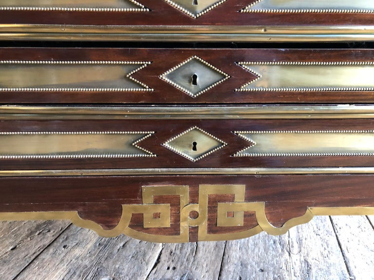 Rare Russian Neoclassical Library Table, 19th Century For Sale 4