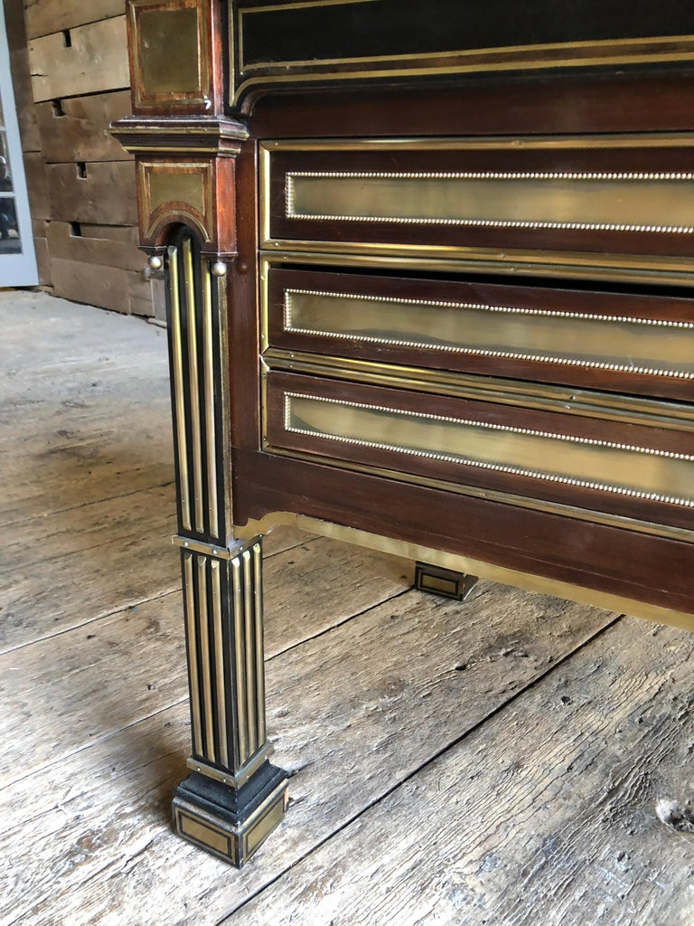 Rare Russian Neoclassical Library Table, 19th Century For Sale 5