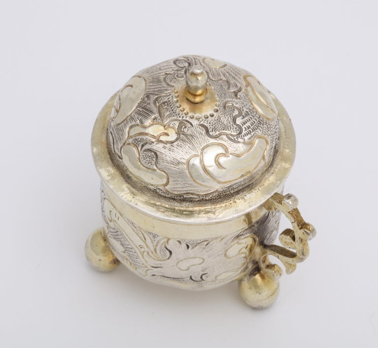 Rare Russian Parcel-Gilt Silver Covered Cup, circa 1750 For Sale 10