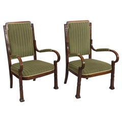 Rare Salon Armchairs Nr. 14 by Thonet, Set of Two