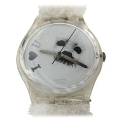 Rare Save the Seals Frozen Tears Swatch Watch Prototype New Never worn