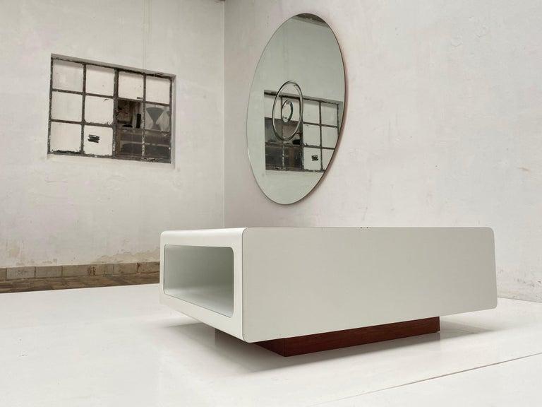 Rare Sculptual Form 'MBR 03' Coffee Table by Michel Boyer for Rouve, Paris, 1968 For Sale 5