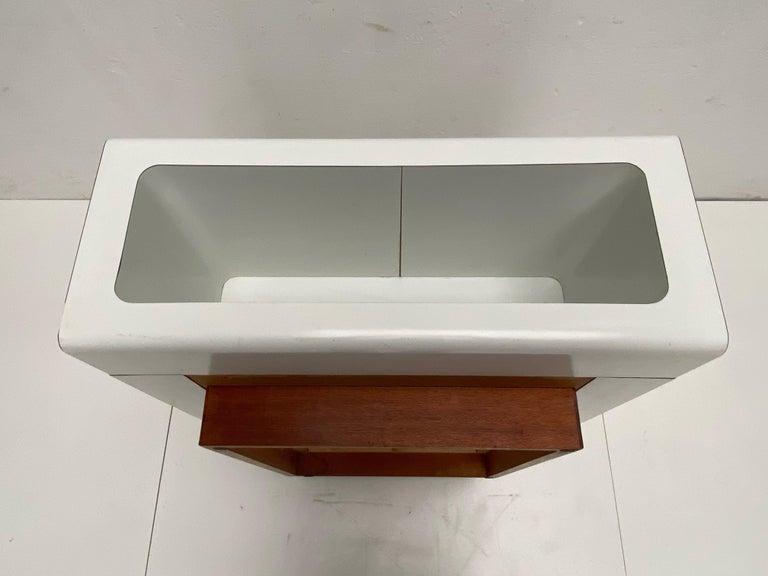 Rare Sculptual Form 'MBR 03' Coffee Table by Michel Boyer for Rouve, Paris, 1968 For Sale 7