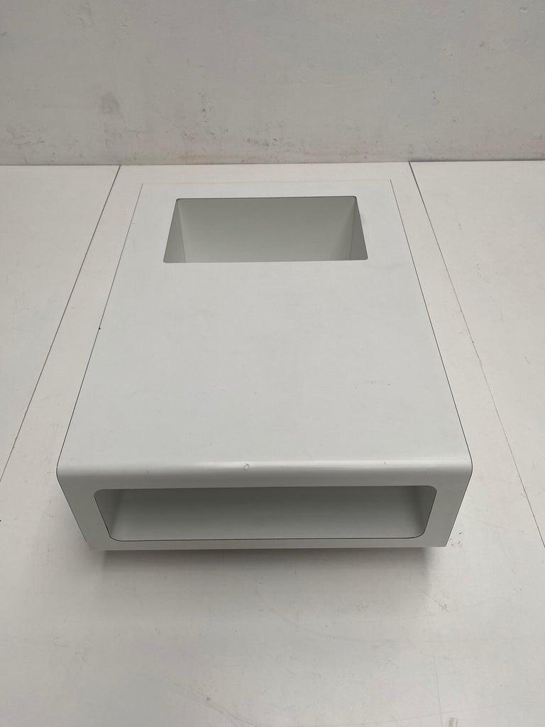 Hardwood Rare Sculptual Form 'MBR 03' Coffee Table by Michel Boyer for Rouve, Paris, 1968 For Sale