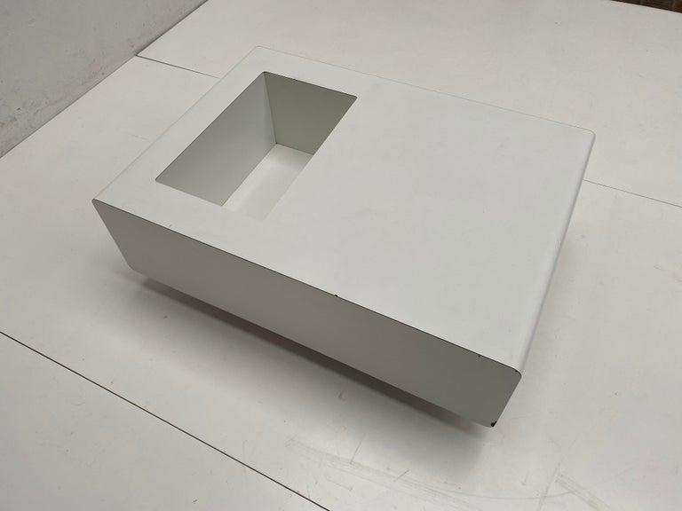 Rare Sculptual Form 'MBR 03' Coffee Table by Michel Boyer for Rouve, Paris, 1968 For Sale 1