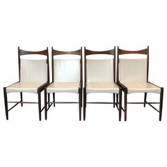Rare Sergio Rodrigues Cantu Dining Chairs