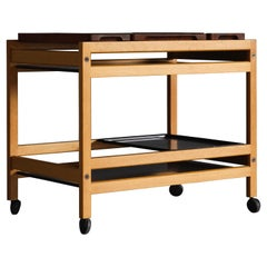 Rare Serving Trolley by Borge Mogensen for Fredericia