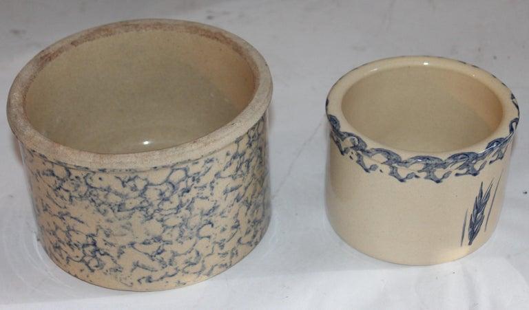 Rare Set of 19th Century Sponge Ware Kitchen Organizer For Sale 3
