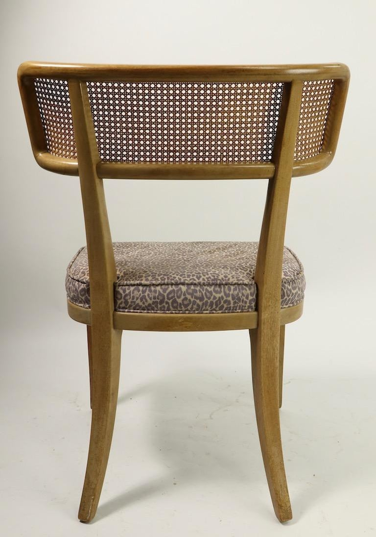Rare Set of 8 Wormley for Dunbar Dining Chairs 4