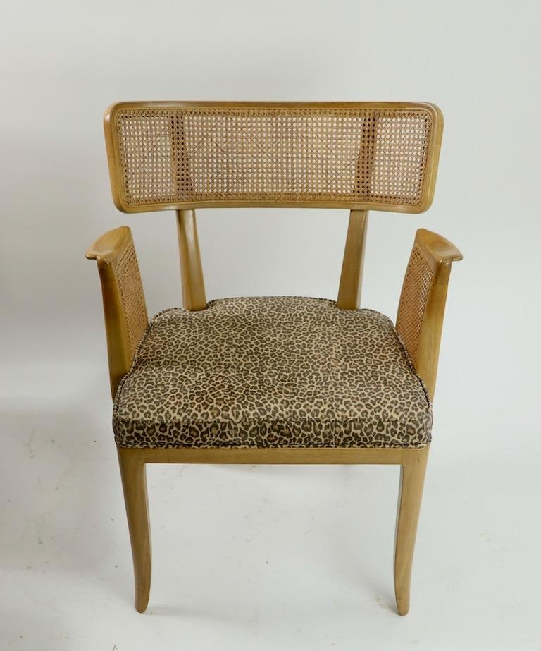 Rare Set of 8 Wormley for Dunbar Dining Chairs 5