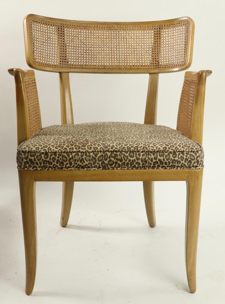 Rare Set of 8 Wormley for Dunbar Dining Chairs 6