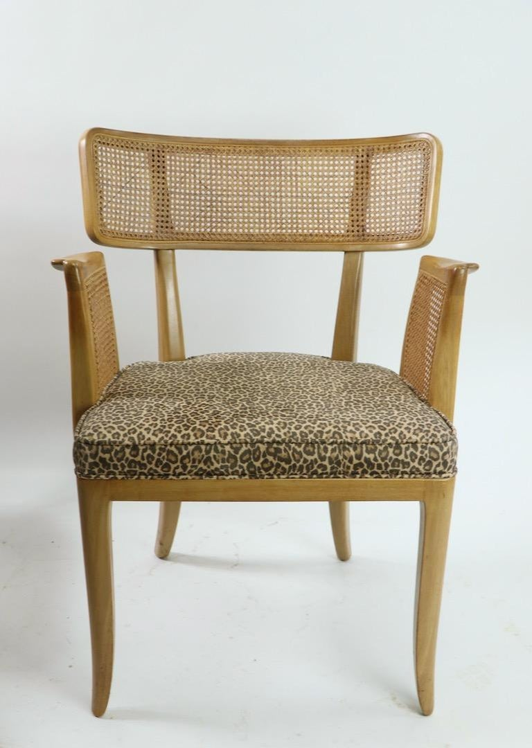 Rare Set of 8 Wormley for Dunbar Dining Chairs 7