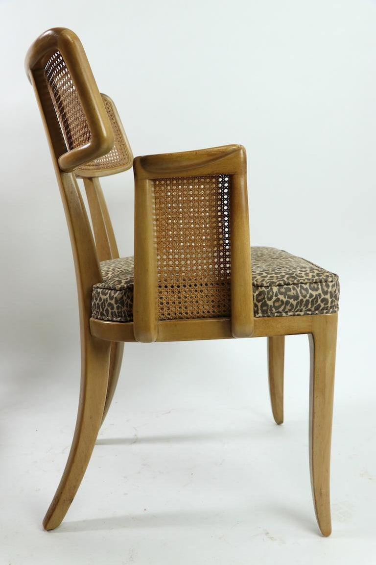 Rare Set of 8 Wormley for Dunbar Dining Chairs 11