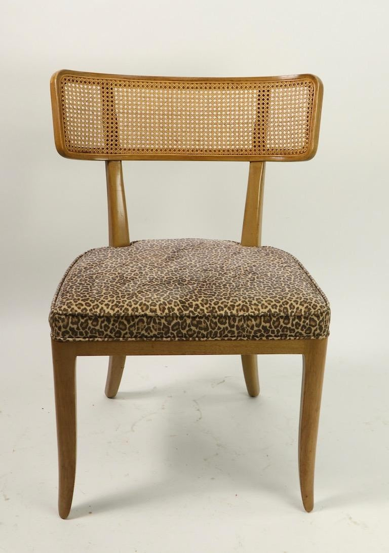Mid-Century Modern Rare Set of 8 Wormley for Dunbar Dining Chairs
