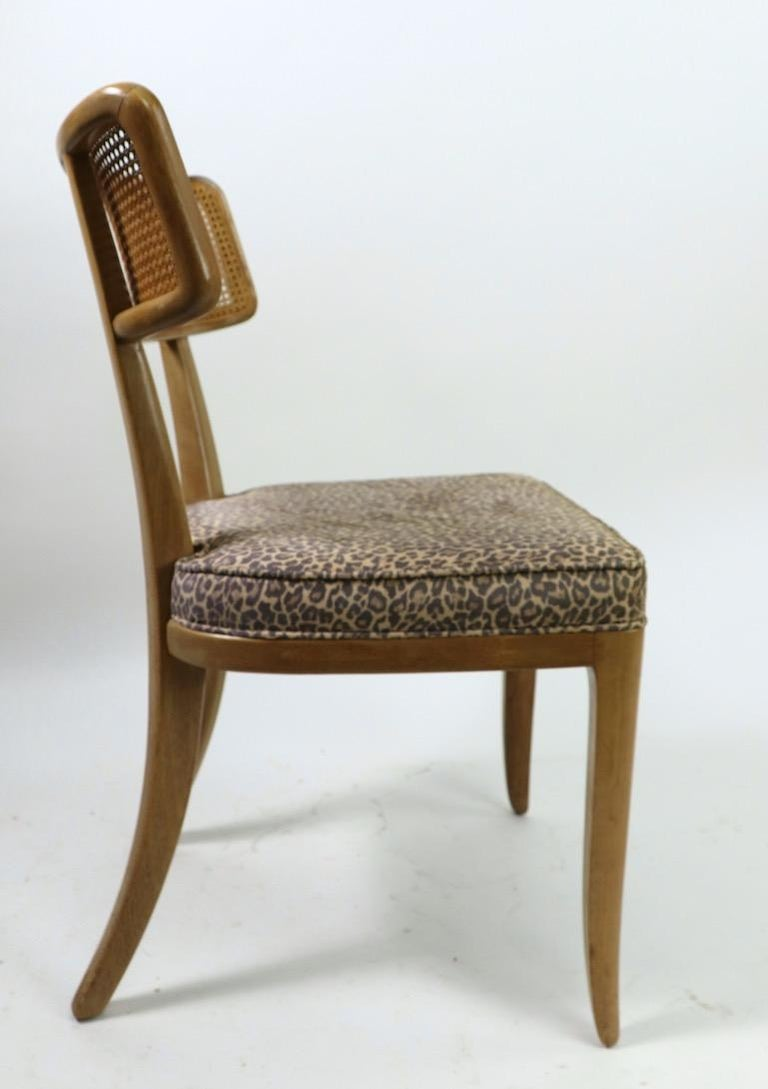 Rare Set of 8 Wormley for Dunbar Dining Chairs 1