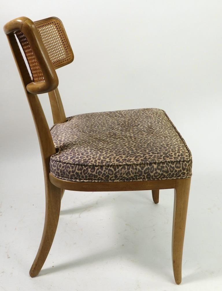 Rare Set of 8 Wormley for Dunbar Dining Chairs 2