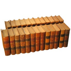 Rare Set of Encyclopedia Britannica 9th Edition '1878-1889' Vols 1-24 Plus Index