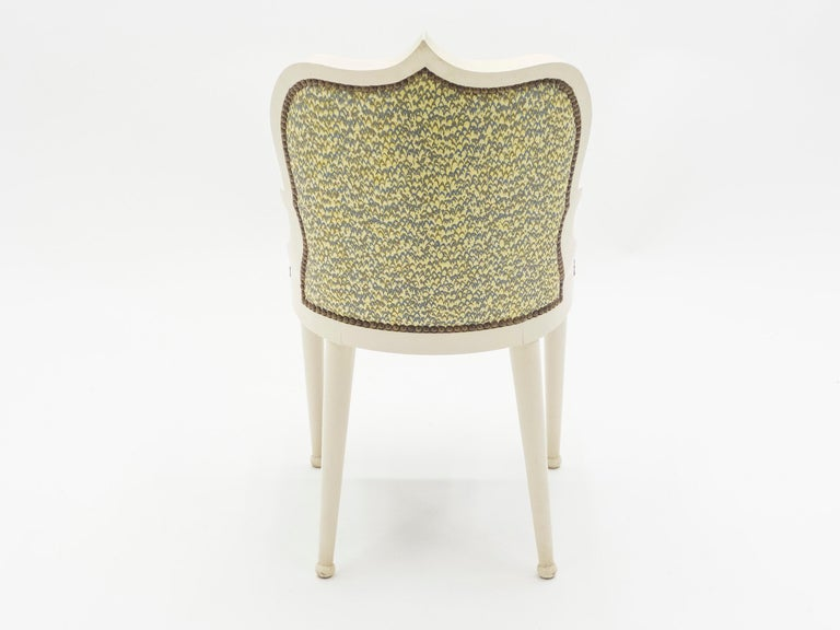 Rare Set of Four Garouste & Bonetti 'Palace' Dining Chairs, 1980 For Sale 6