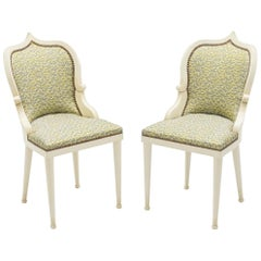 Rare Set of Four Garouste & Bonetti 'Palace' Dining Chairs, 1980
