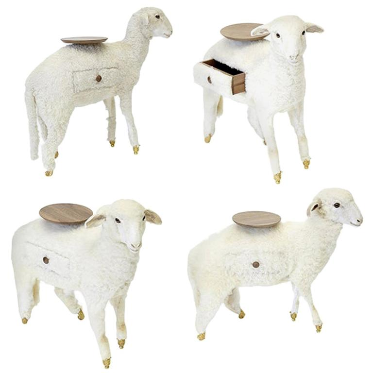 Salvador Dalí for BD Barcelona Design and Deyrolle set of four limited-edition Xai lambs, 2015