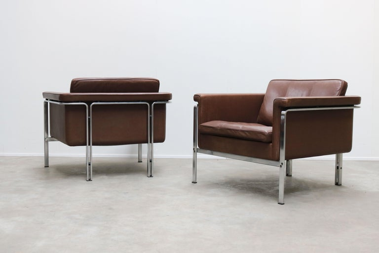 Rare Set of Lounge Chairs & Coffee Table by Horst Bruning for Kill International For Sale 3