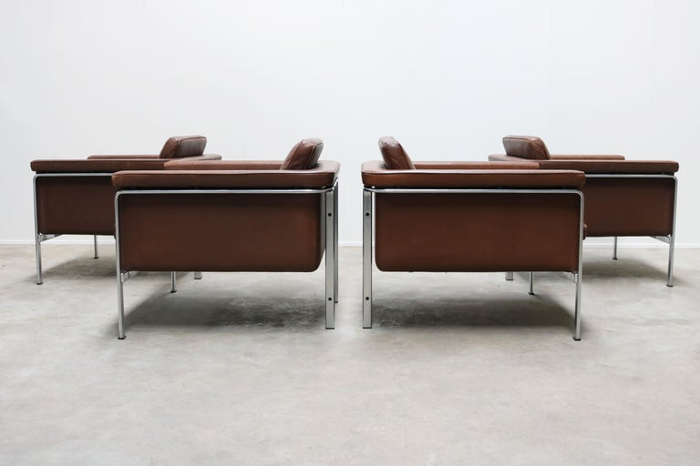 Rare Set of Lounge Chairs & Coffee Table by Horst Bruning for Kill International For Sale 5
