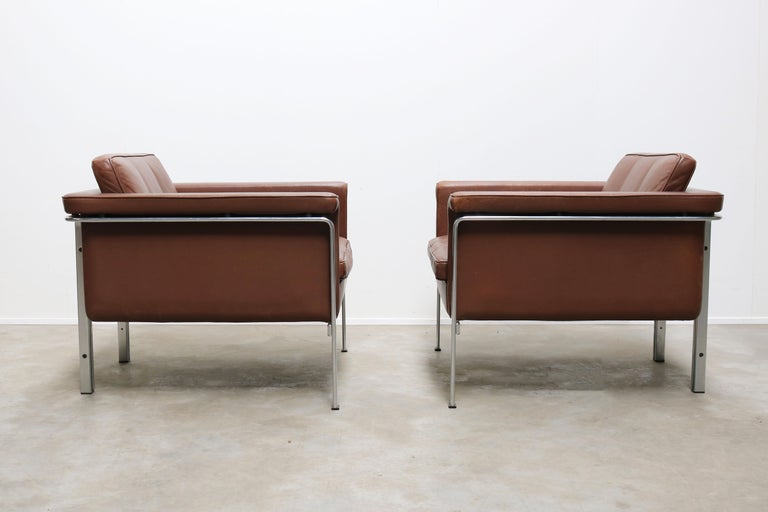 Rare Set of Lounge Chairs & Coffee Table by Horst Bruning for Kill International For Sale 1