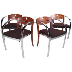 Rare Set of Midcentury Paoli Dining Chairs