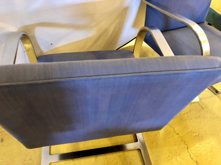 Rare Set of Ten Mies van der Rohe Dining Chairs for Knoll For Sale 8