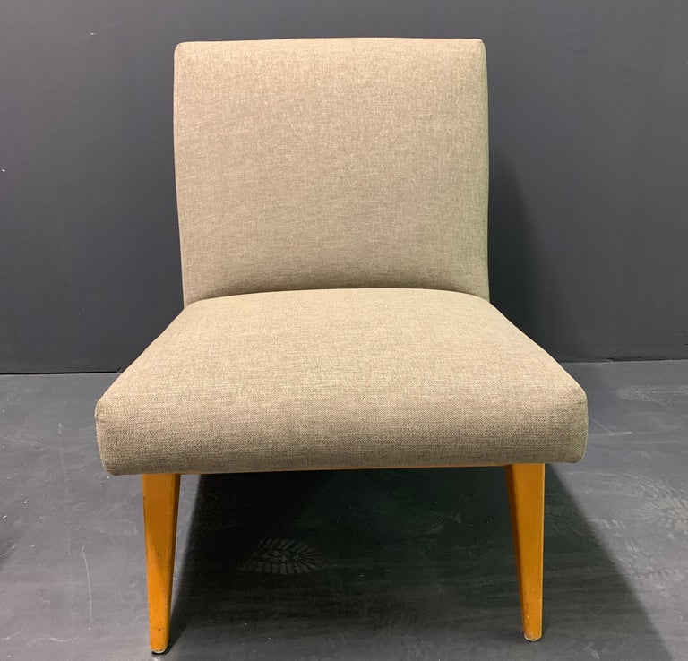 Rare Set of Two No.21 Lounge Chairs by Jens Risom for Knoll For Sale 1