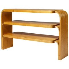 Rare Shelf Designed by Alvar Aalto for Hedemora, Sweden, 1933