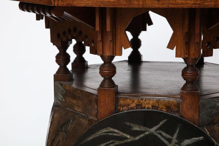 Rare Side Table by Carlo Bugatti For Sale 1