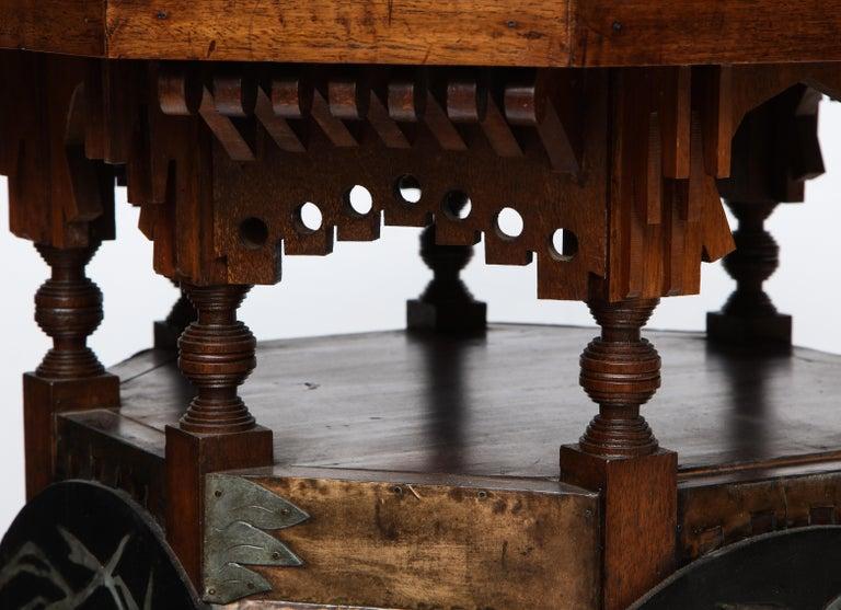 Rare Side Table by Carlo Bugatti For Sale 4