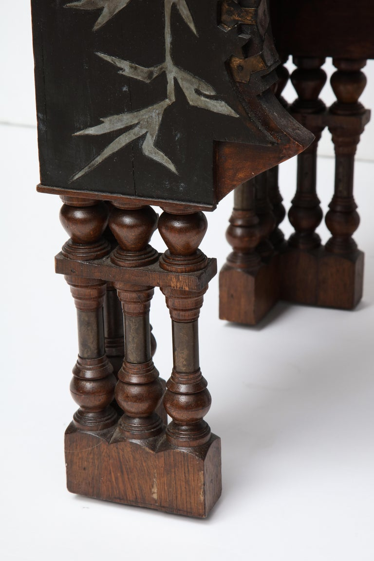 Early 20th Century Rare Side Table by Carlo Bugatti For Sale