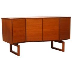 Rare Sideboard / Corner Cabinet in Teak by Arne Hovmand Olsen for Mogens Kold