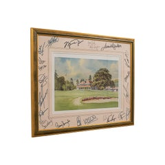 Rare, Signed Sports Memorabilia, Golf, Celebrity, Samuel L Jackson, Alice Cooper