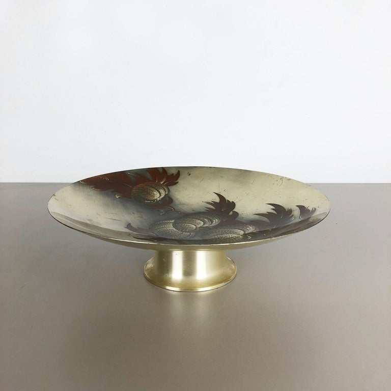 Rare Silver Plated Shell Bowl by WMF Ikora, Germany 1930s Bauhaus Art Deco For Sale 7