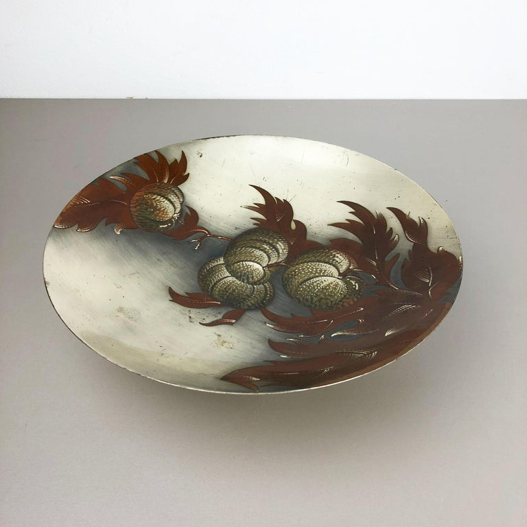 Rare Silver Plated Shell Bowl by WMF Ikora, Germany 1930s Bauhaus Art Deco For Sale 8