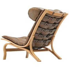 Rare 'Skandi' Lounge Chair by Arne Norell