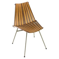 Rare 'slats chair' by Team Rohé