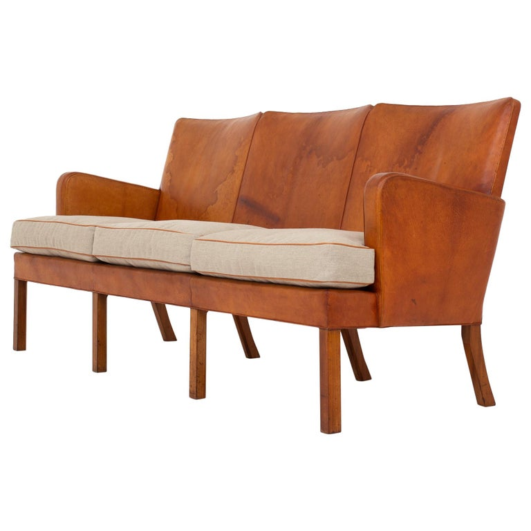 Rare Sofa by Kaare Klint For Sale