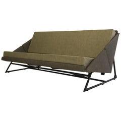 Rare Sofa by Louis Paolozzi for Zol, 1957, Prestige Model, French Design
